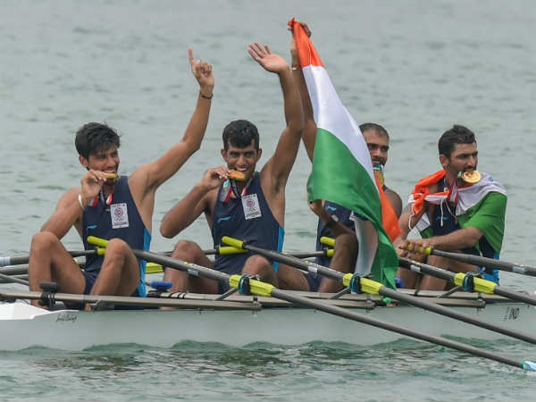 Asian Games 2018 - India got first gold in Rowing
