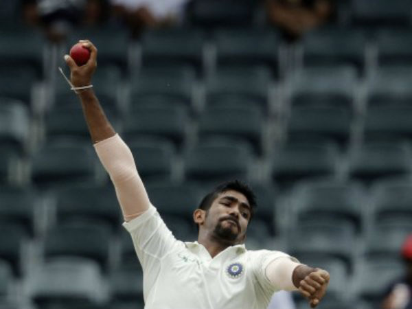 Jasprit bumrah doubtful for second test match