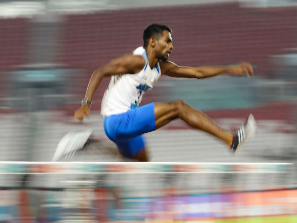 Asian Games 2018 - Dharun Ayyasamy won silver in Men 400m hurdles