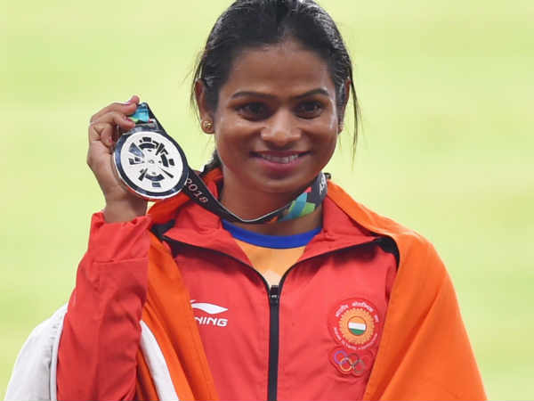Odisha government announced 1.5crores for Dutee Chand for her silver medal in Asian games 2018