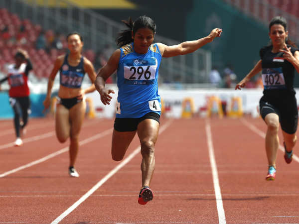 Asian Games 2018 - Dutee Chand won her Second silver at this asian games in 200m finals