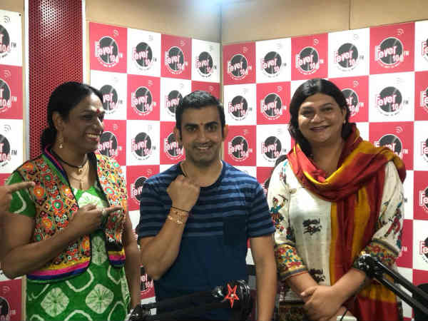Gautam Gambhir celebrates Raksha Bandhan with Transgenders and says Huamnity is important