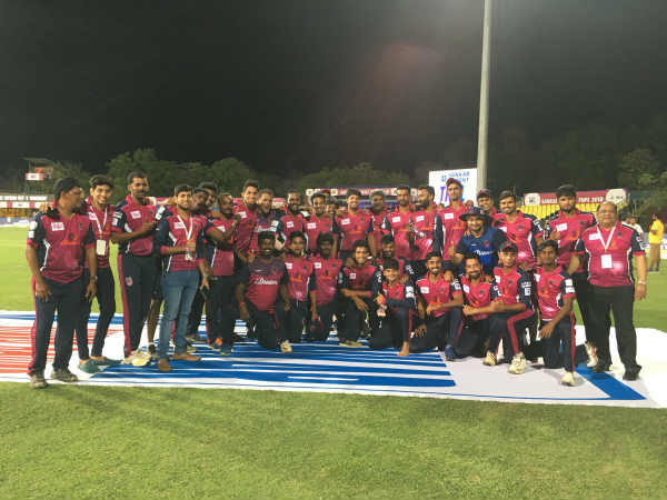 despite lost in the last league idreams karaikudi kaalai enters play off of tnpl