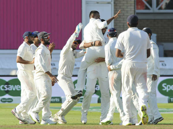 India close to victory in 3rd test