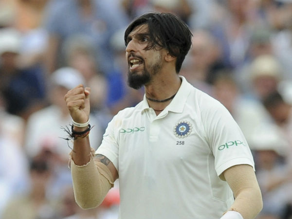 Ishant Sharma fined by icc for his animated celebration