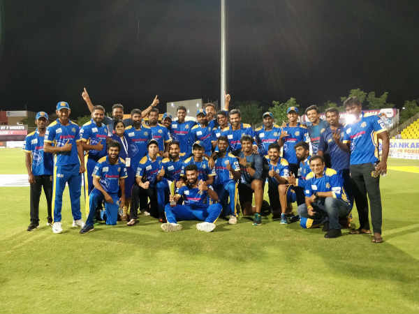 Siechem Madurai Panthers Enters The Finals Tnpl