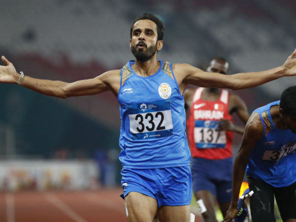 Asian Games 2018 - India won Gold and silver in Men 800m