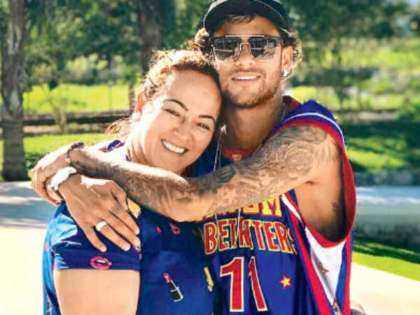 People Only Know His Name Neymar Mother Defend Her Son
