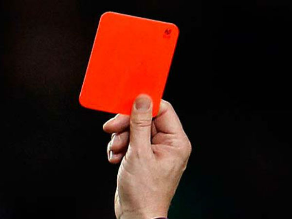 english football association introduced yellow and red cards for managers