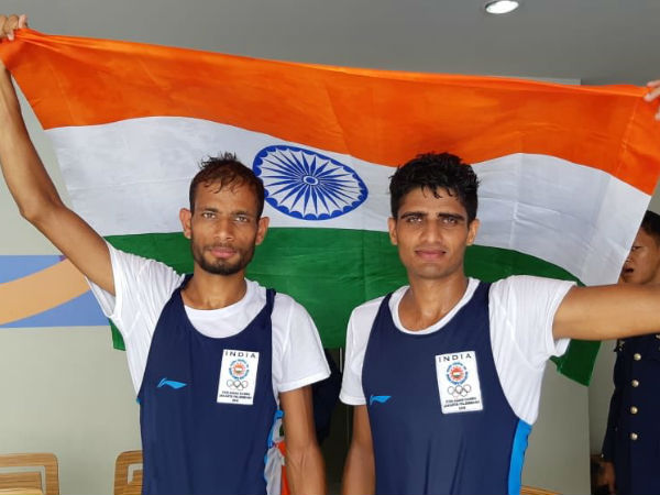 Asian Games 2018 - India got second bronze in Rowing Men's lightweight double sculls
