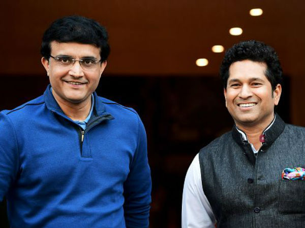 Ganguly shares his experience with Sachin in his earlier days