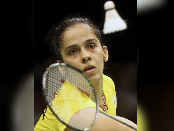 saina enters the quarters of badminton world championship for record 8th time