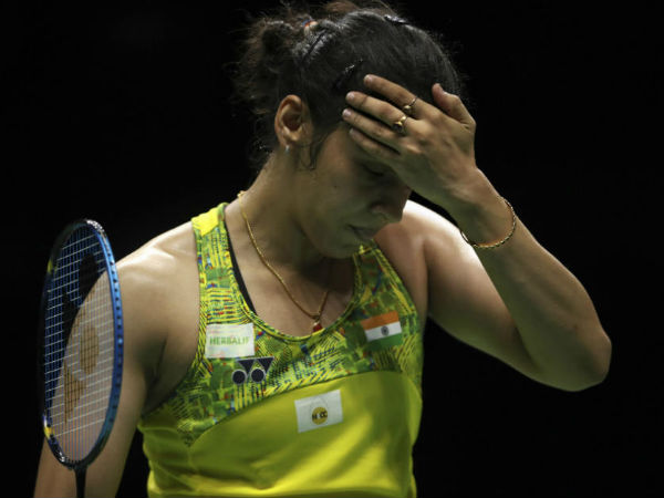 Saina nehwal out of badminton world championship
