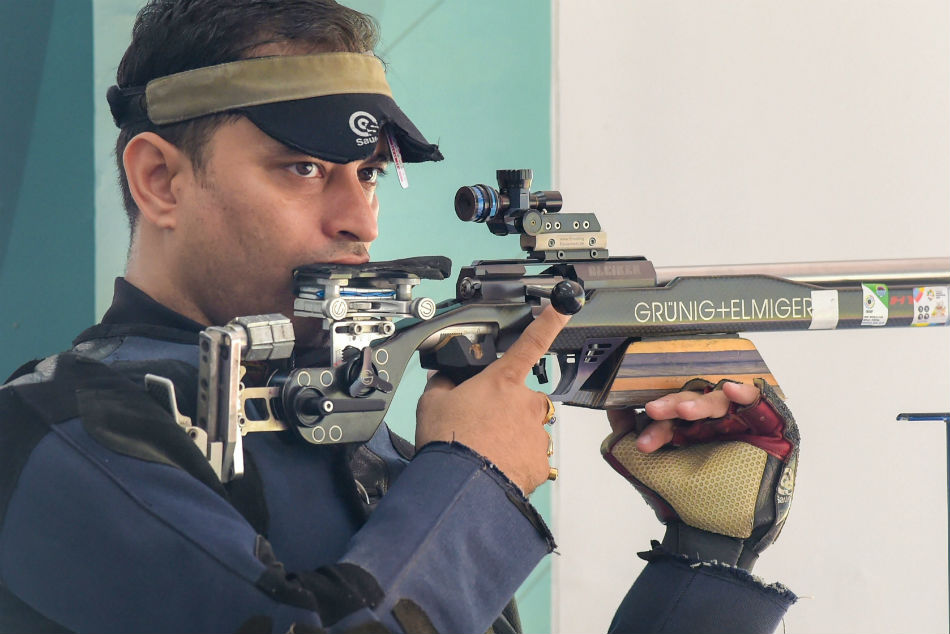 India got eight medal in Asian games 2018, as Sanjeev Rajput won Silver