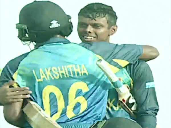 Srilanka u-19 team wins against india