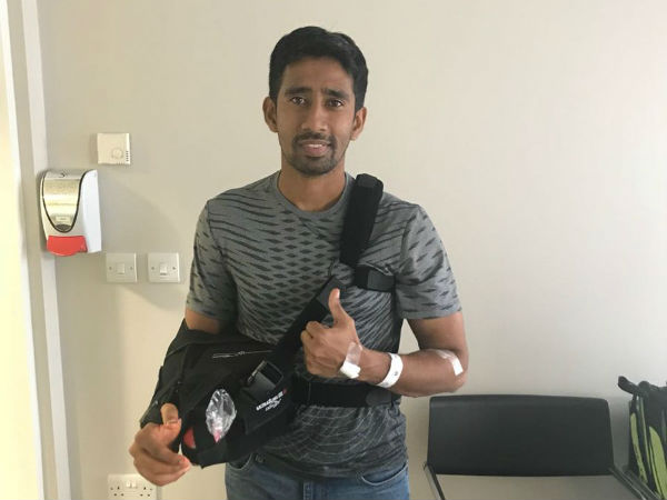 surgery for wriddhiman saha done
