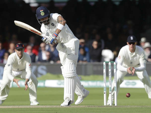 India all out in the first innings in the second test