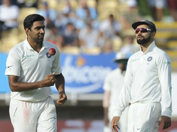 Ashwin spins out cook for the 8th time