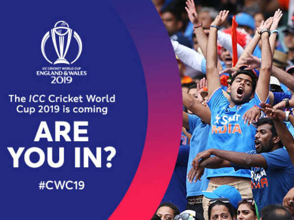 Public ballot for 2019 cricket world cup started