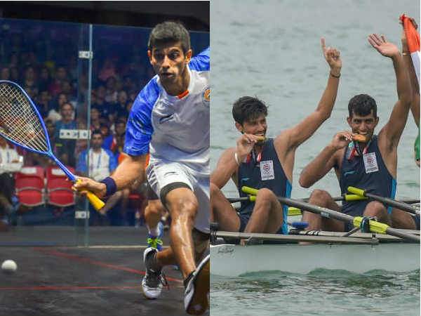 Asian Games 2018 - India won 3 bronzes in sailing and 1 bronze in Sqaush