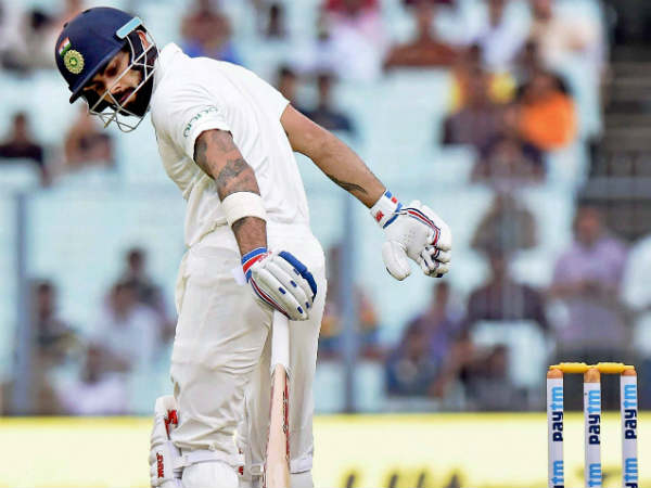 Virat kohli loses his first spot in test batsman rankings