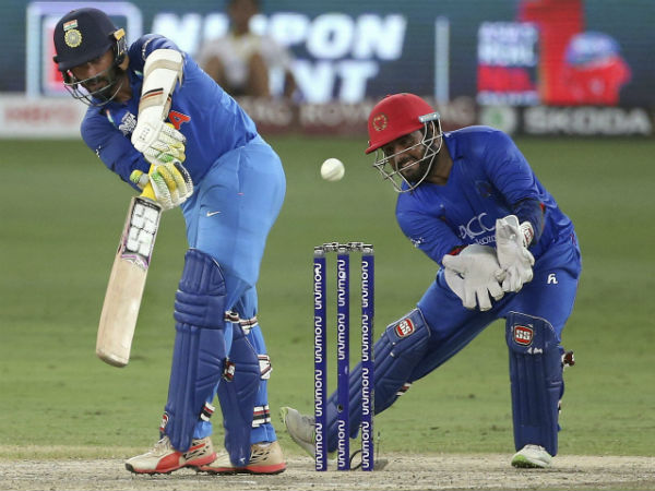 Asia Cricket Cup 2018 Dhoni Is Leading The Match Against Afghanistan