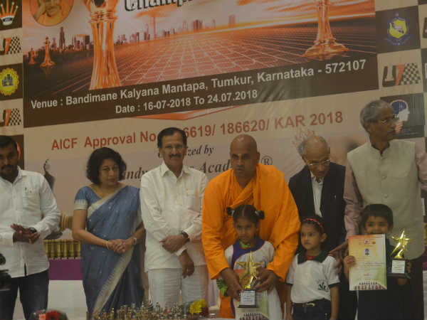Five years old National Chess champion Shaashini puvi is brilliant at this age