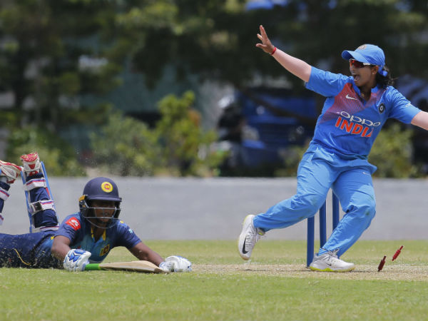 Indian Women Team Beats Sl Women In First T