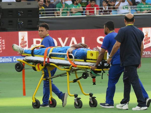 India vs pakistan Asia cup match - Hardik Pandya Injured during bowling