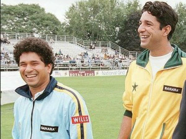 Wasim Akram troled Sachin on his first match against Pakistan