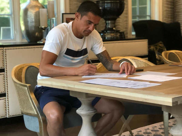 Ausralian football star Tim Cahill joins Jamshedpur FC in Indian Super League