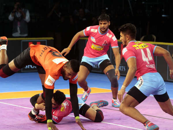Pro Kabaddi League 2018 Pkl2018 Bengaluru Bulls Crushed