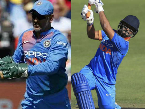 Ms Dhoni Or Rishab Pant Who Will Get The Chance West Indies