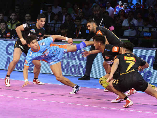 Pro Kabaddi League 2018 Pkl2018 Bengal Warriors Beat Telugu Titans Jaipur Beat Haryana