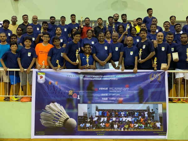 Singapore Annamalai University Former Students Association Conducted Badminton Tournament
