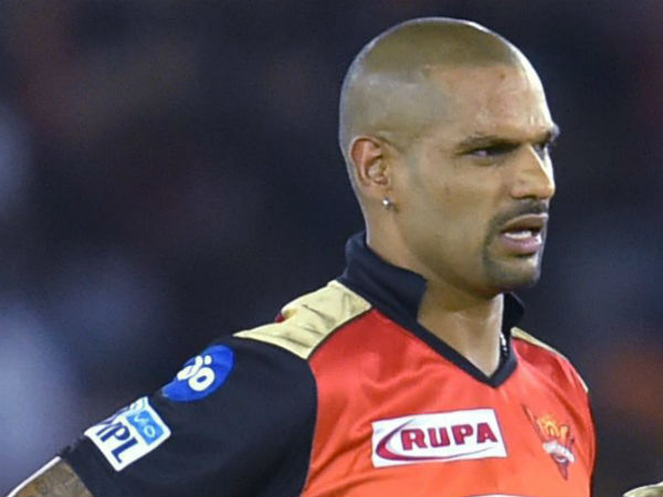Dhawan Shifted From Sunrisers Delhi Daredevils After He Fixed A Deal