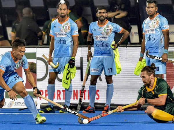 India Beat Southafrica Its First Encounter Hockey World Cup 2018
