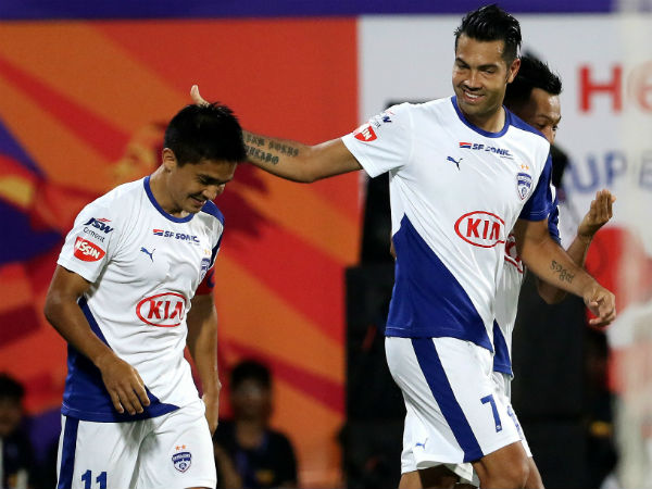 ISL 2018 - Bengaluru FC thriving on Sunil-Miku camaraderie
