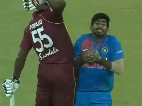 Kieron Pollard Distracted Bumrah While Catching Becomes Controversy Duing 2nd T20 At Lucknow