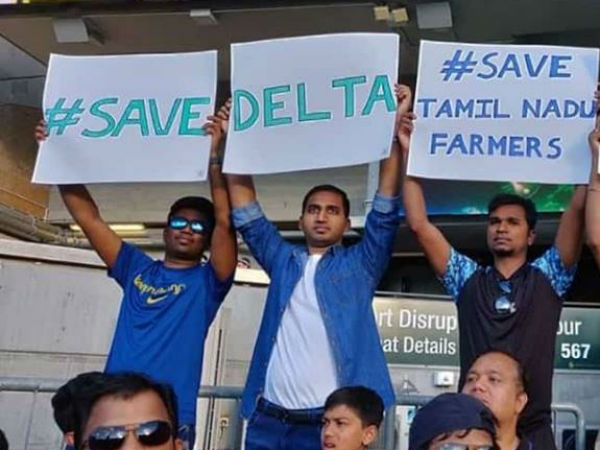 Gaja relief: Save Delta posters gets huge reach in Australia Vs India match