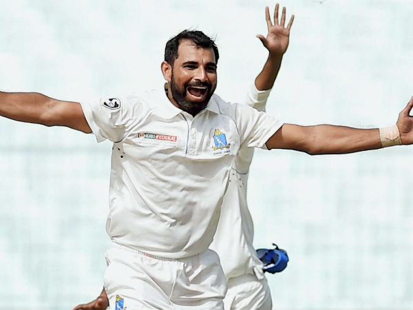 Mohammad Shami Bowled More Overs Than Stipulated Bcci Ranji Match