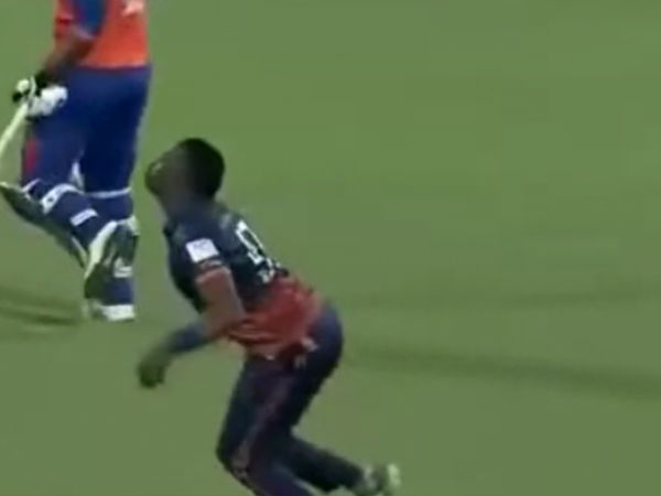 Bravo Performed Chicken Dance Before He Caught The Ball The T10 League