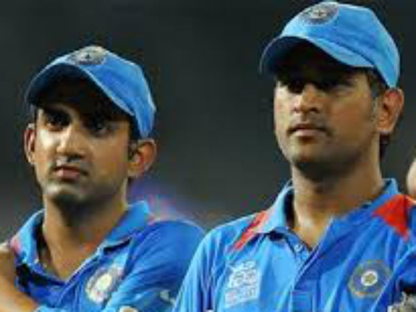 Gautam Gambhir Reveals Shocking Ideas From Dhoni About Sachin Sehwag And Himself