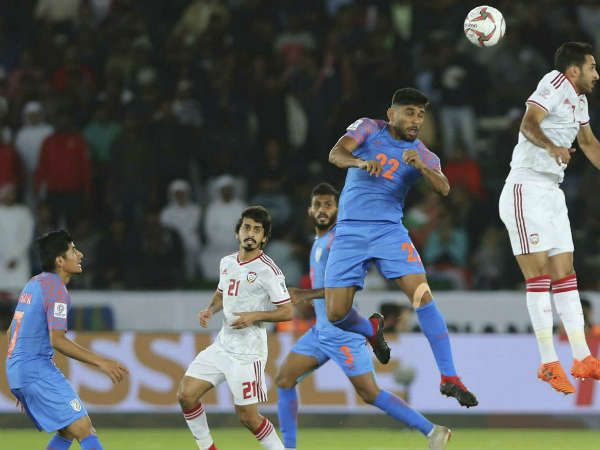 AFC Asian cup 2019 : India lost to UAE - full match report