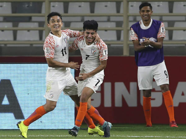 AFC Asian cup 2019 : India beat Thailand by 4-1 in the first match
