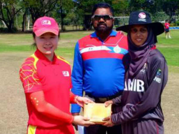 China Women S Team Scored Only 14 Runs Against Uae