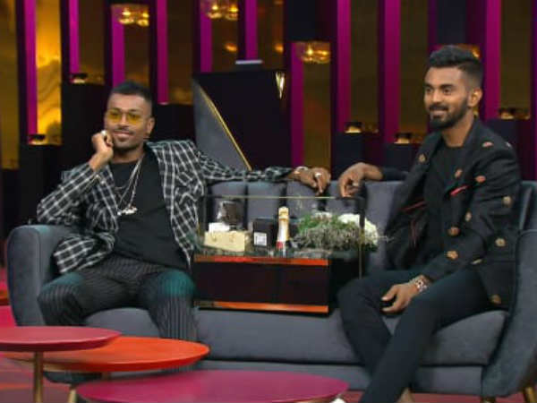 Hardik Pandya Kl Rahul Might Be Banned 2 Matches Crass Comme