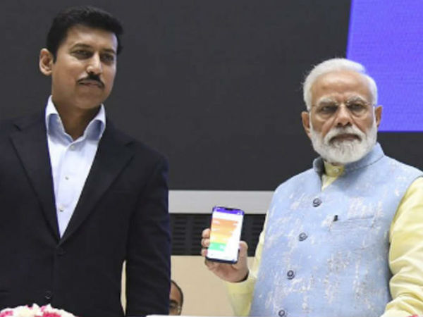 PM Modi launched Khelo India mobile app for the development of Sports in India