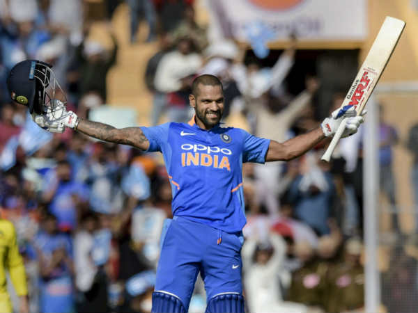 Dhawan Scored 143 Runs Highest His Odi Career