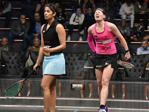 Joshna chinappa storms into womens black ball squash open quarter finals